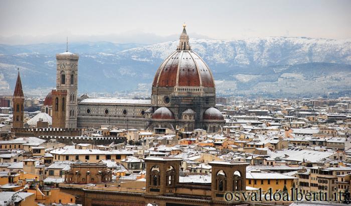 vista de la catedral de Florencia